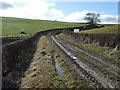 SE9961 : A muddy Garton Balk, Elmswell Slack by JThomas