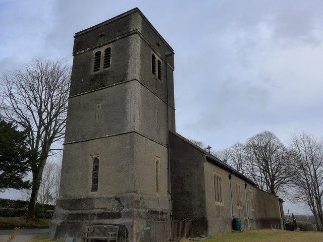 St Catherine, Crook: south-western aspect