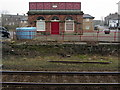 NY7063 : Water Tank Building, Haltwhistle Station by Andrew Curtis