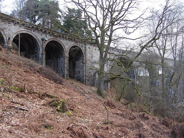 South-west end of Lambley Viaduct