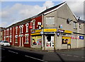 SS8690 : Garth General Stores, Maesteg by Jaggery