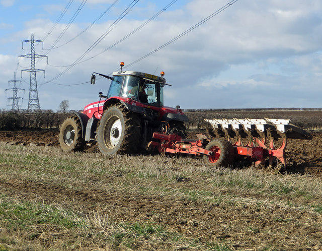 February Ploughing on Horkstow Wolds