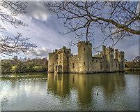 TQ7825 : Bodiam Castle by J.Hannan-Briggs