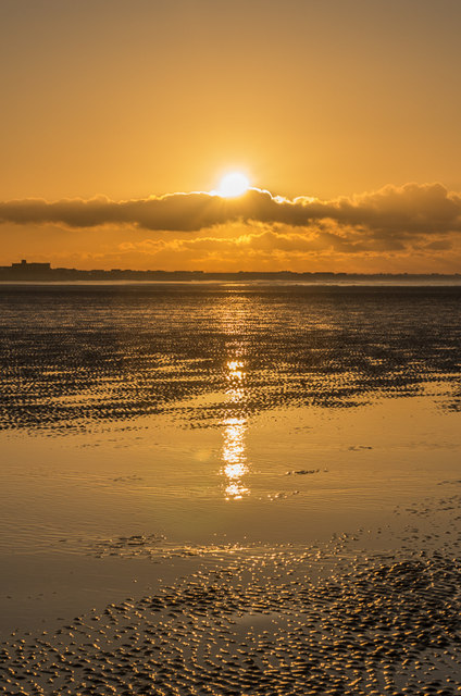 Sunrise on West Wittering Beach