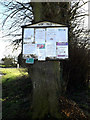 TM0877 : Wortham Village Notice Board by Adrian Cable