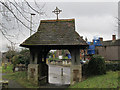 TQ2550 : St Mary's, Reigate: lych gate by Stephen Craven