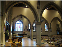 TQ2550 : St Mary's, Reigate: dais by Stephen Craven