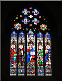 TQ2550 : St Mary's, Reigate: east window by Stephen Craven
