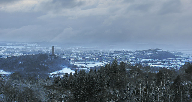 Stirling in winter