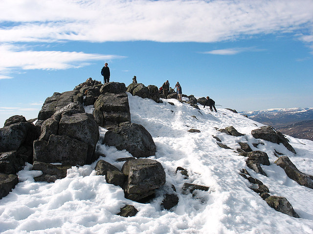 Summit area, Schiehallion