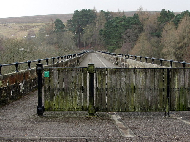 Lambley Viaduct from east end