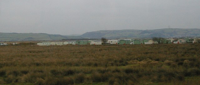 Caravan site, Aberlery