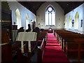 SD4692 : All Saints, Underbarrow: aisle by Basher Eyre