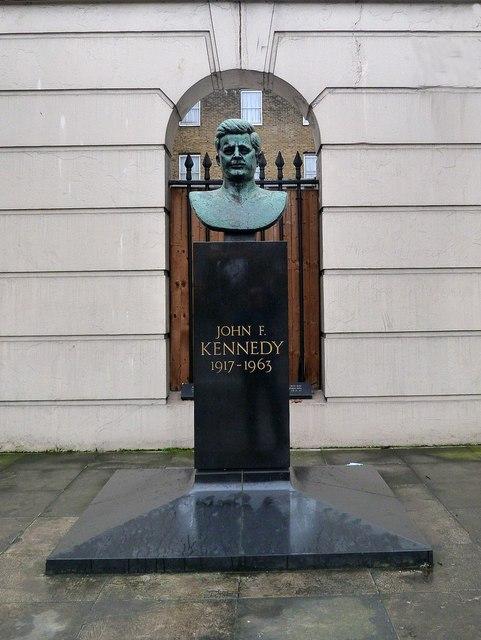 John F. Kennedy Memorial bust, Marylebone