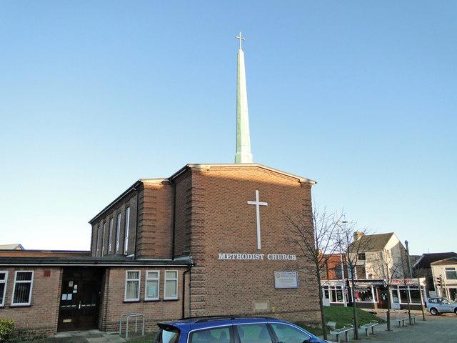 Kirkley Methodist church in London Road South by Adrian S Pye