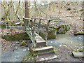 SD5306 : Bridge where issues join Dean Brook, Dean Wood by Gary Rogers