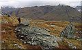 NN1451 : Rocks on declining slope of Beinn Maol Chaluim by Trevor Littlewood