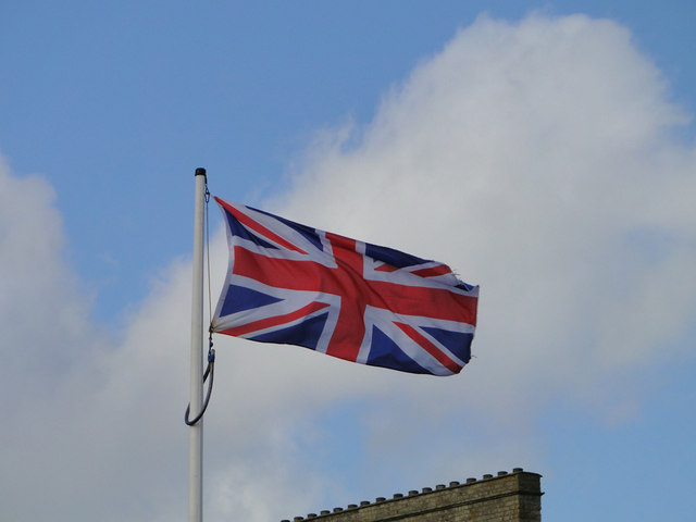 Flying the flag for Queen and country by Adrian S Pye
