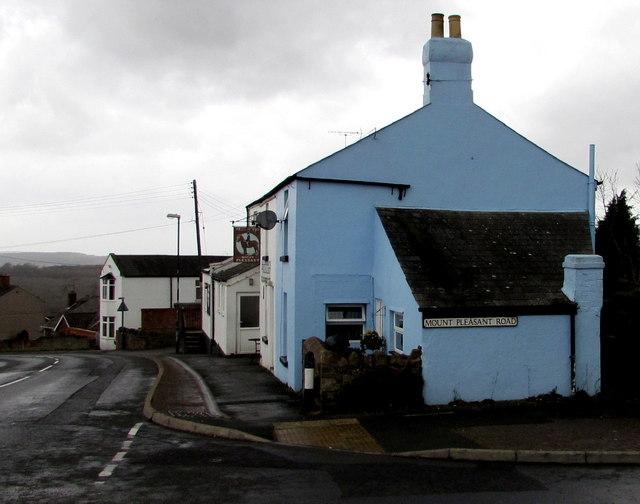 Blue corner of suburban Cinderford