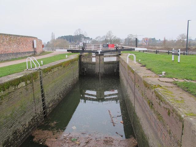 Barge Lock no 1, Diglis Basin