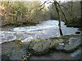 SE0656 : The River Wharfe at the downstream end of The Strid by Humphrey Bolton