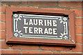 J3572 : Laurine Terrace name sign, Belfast (March 2015) by Albert Bridge