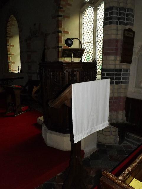 Lectern & Pulpit of All Saints Church