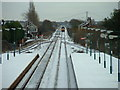 SE9326 : Brough Station in East Yorkshire by Road Engineer