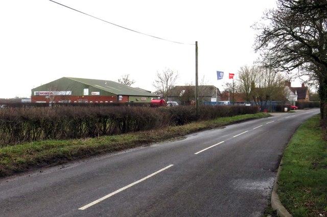 Kingswood Lane into Kingswood
