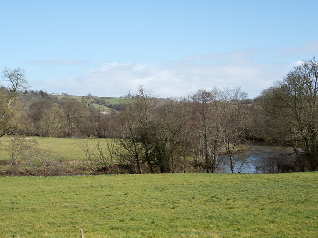 The River Taw at Little Dart Pool