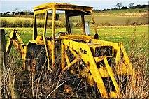 SJ9647 : Massey Ferguson Digger by Stu JP