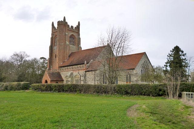 Gestingthorpe church