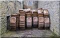 H8845 : Wheelie bins, Armagh Gaol by Rossographer