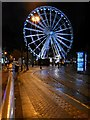SJ8498 : Market Street and the Manchester Wheel by David Dixon