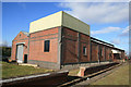 SK0307 : Chasewater Light Railway - museum and workshops by Chris Allen