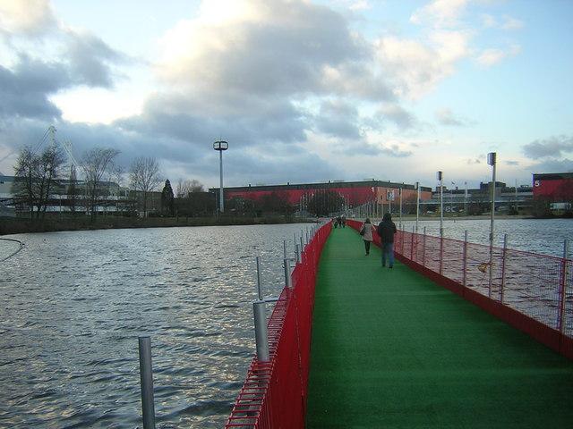Walkway over Pendigo Lake, National Exhibition Centre