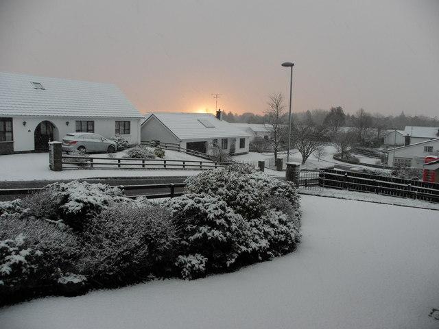 Dawn at Knockgreenan, Omagh