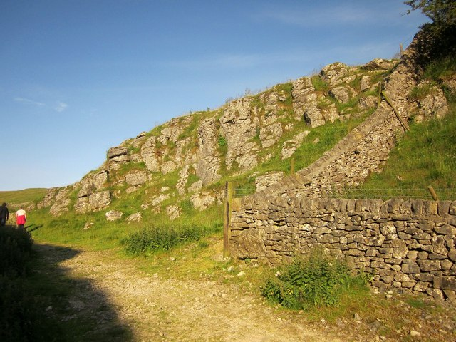 Wall angle, Cave Dale