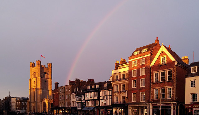 King's Parade rainbow