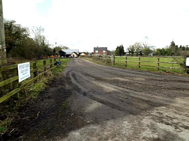 Entrance to Pond Farm
