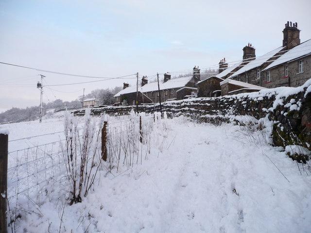 Pennine Bridleway, below the railway cottages, Garsdale