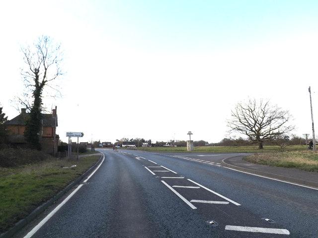 A143 Bury Road, Wortham