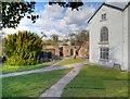 SJ8383 : Quarry Bank Mill, Apprentice House Yard by David Dixon