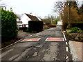 ST2992 : Not very bumpy bumps across Pentre Lane, Llantarnam, Cwmbran by Jaggery