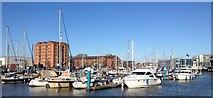 TA0928 : Hull Marina by Dave Pickersgill