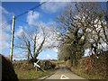 SX3073 : Crossroads near Patrieda Barn by Derek Harper