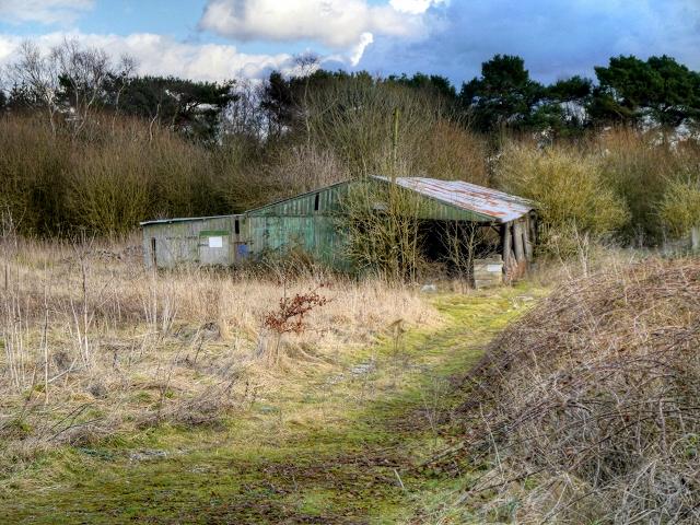 Old Farm Building, Saltersley Moss
