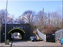 SO9199 : Bone Mill Lane Railway Bridge by Gordon Griffiths