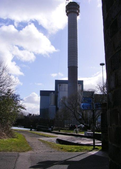 Incinerator View