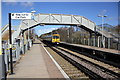 SJ4068 : Bache Railway Station by Jeff Buck